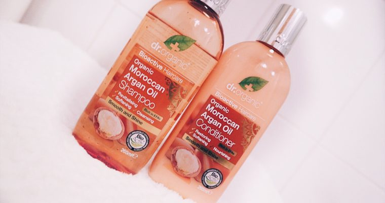 REVIEW Dr. Organic Moroccan Argan Oil Shampoo